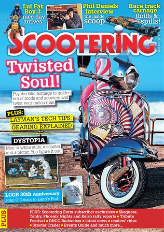 Scootering issue July 2018