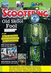 Scootering issue November 2018