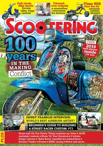 Scootering issue December 2018
