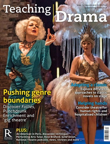 Teaching Drama issue Autumn 2 2017/18