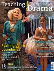 Teaching Drama issue Autumn 2 2017/18