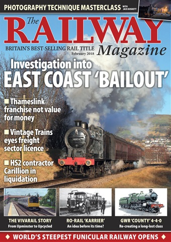 Railway Magazine issue February 2018