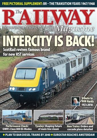 Railway Magazine issue March 2018