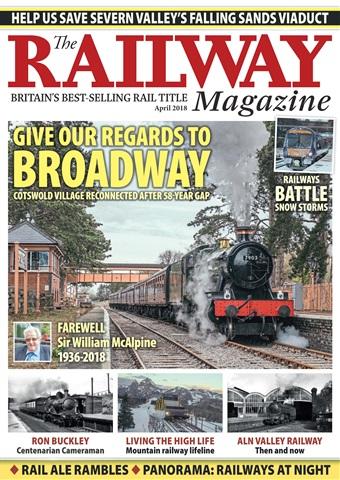 Railway Magazine issue April 2018