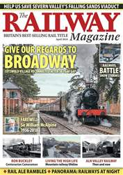 Railway Magazine issue April 2018