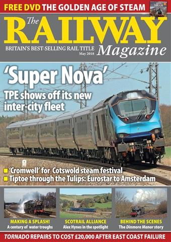 Railway Magazine issue May 2018