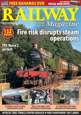 Railway Magazine issue August 2018