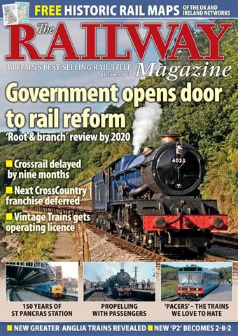 Railway Magazine issue October 2018