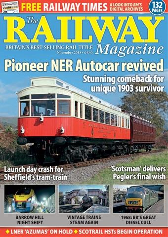 Railway Magazine issue November 2018