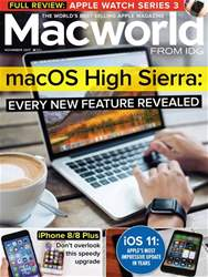 Macworld UK issue November 2017