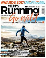 Men's Running Magazine Cover
