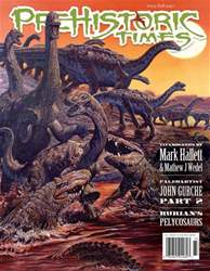 Prehistoric Times issue Issue #123 Fall 2017