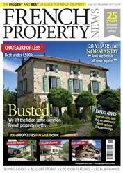 French Property News Magazine Cover