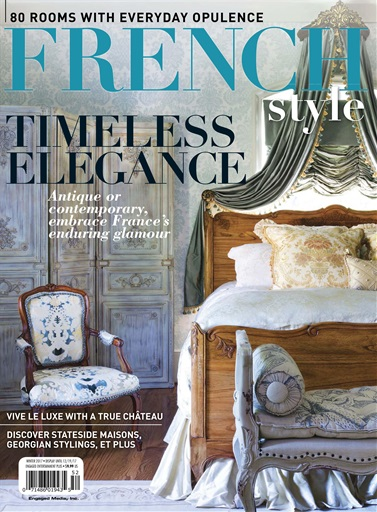 Flea market d cor magazine french style winter 2017 for Decor market reviews