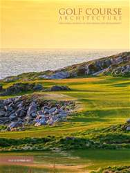 Golf Course Architecture Magazine Cover