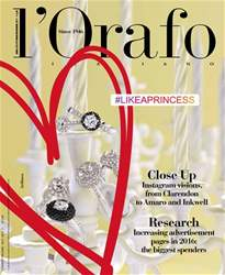 l'Orafo Italiano October/November 2017 issue l'Orafo Italiano October/November 2017