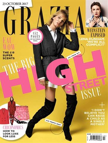 Grazia issue 23rd October 2017