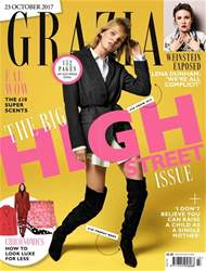Grazia issue 23rd October 2017