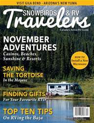Snowbirds & RV Travelers issue Nov 17