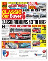 Classic Car Buyer issue 18 October 2017