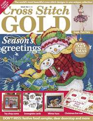 Cross Stitch Gold issue October 2017