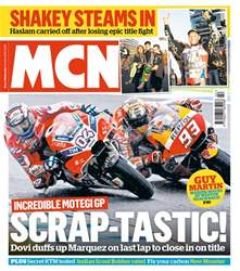 MCN issue 18th October 2017