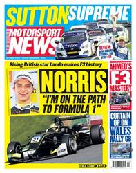 Motorsport News issue 18th October 2017