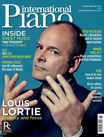 International Piano issue Nov - Dec 2017