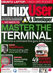 Linux User and Developer Magazine Cover