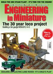 Engineering in Miniature issue Nov-17