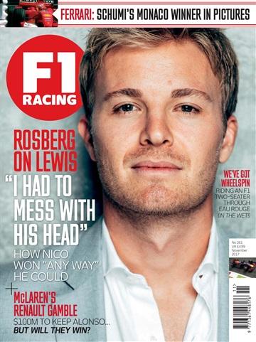 F1 Racing issue November 2017
