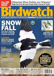 Birdwatch Magazine issue November 2017