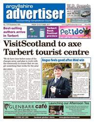 Argyllshire Advertiser issue 20 October 2017