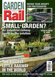 Garden Rail Magazine Cover