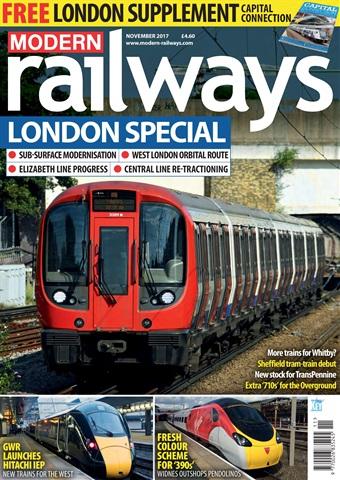 Modern Railways issue  November 2017