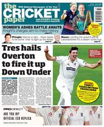 The Cricket Paper issue 20th October 2017