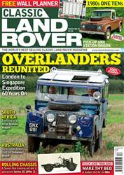 Classic Land Rover Magazine issue   December 2017