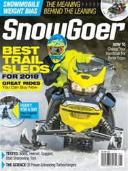 SnowGoer issue January