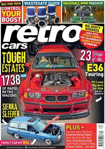 Retro Cars issue December 2017