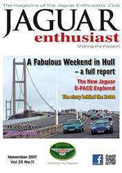Jaguar Enthusiast issue November 2017