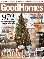 GoodHomes Magazine issue December 2017