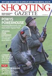 Shooting Gazette issue November 2017