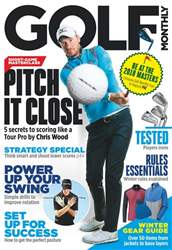 Golf Monthly issue December 2017