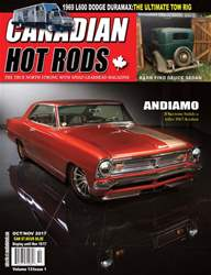 Canadian Hot Rods issue OCTOBER/NOVEMBER 2017 VOL 13 ISS 1