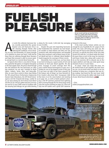 ultimate diesel builders guide magazine dec jan 2017. Black Bedroom Furniture Sets. Home Design Ideas