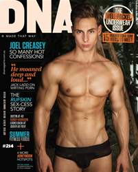 DNA Magazine issue DNA #214 | Underwear Review And Entertainers