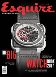 Esquire Malaysia issue THE BIG WATCH BOOK 2017