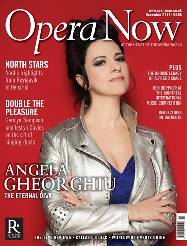 Opera Now issue November 2017