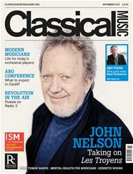 Classical Music issue November 2017