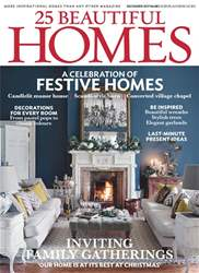 25 Beautiful Homes issue December 2017